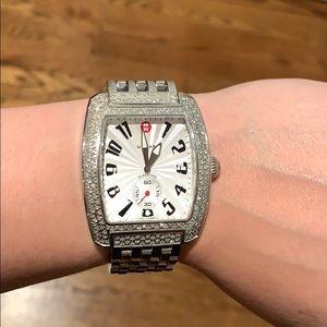 Michele Urban Classic Diamond Watch